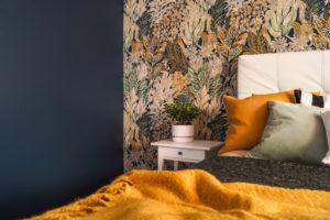 Makuuhuoneen pintamateriaalit